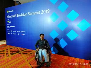 เครือข่ายเหยี่อเมาแล้วขับ กรุงเทพมหานคร เข้าร่วมงานสัมมนา Microsoft Envision Summit 2019 12 November 2019